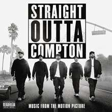 O.S.T., straight outta compton cover