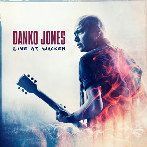 Cover DANKO JONES, live at wacken