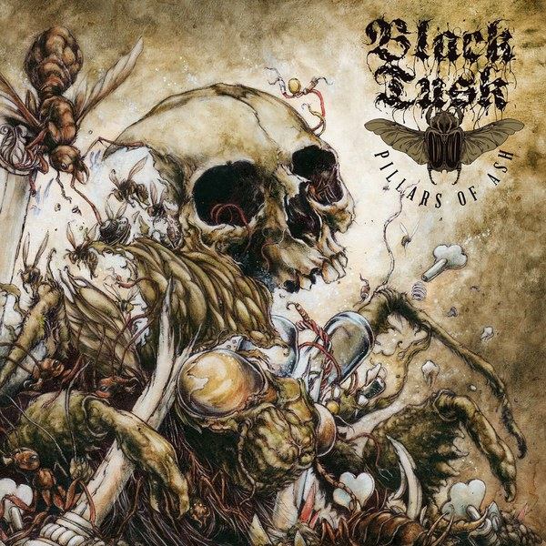 BLACK TUSK, pillars of ash cover