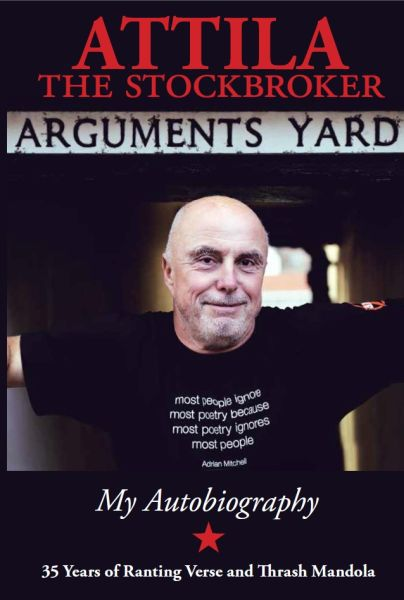 Cover ATTILA THE STOCKBROKER, arguments yard