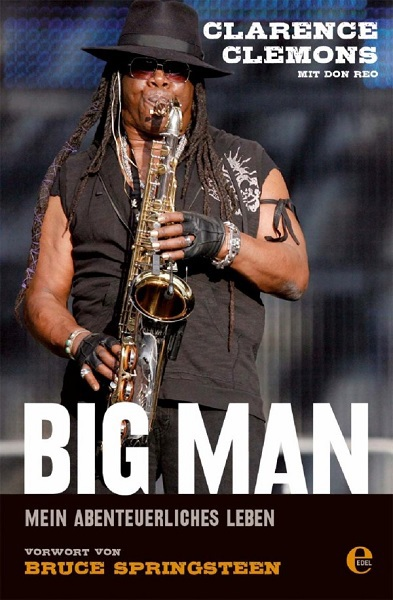 CLARENCE CLEMONS, big man cover