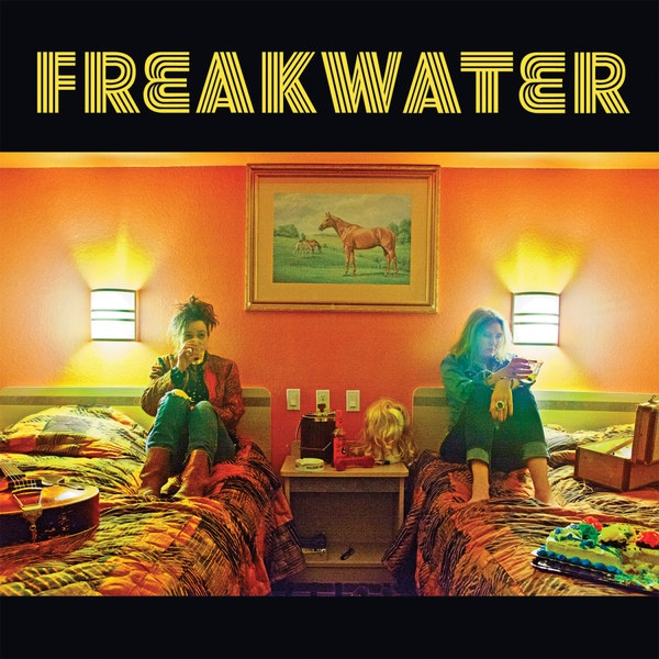 Cover FREAKWATER, the asp & the albatross
