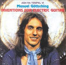 Cover MANUEL GÖTTSCHING, inventions for electric guitar