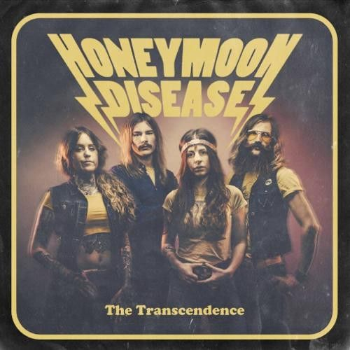 Cover HONEYMOON DISEASE, the transcendence