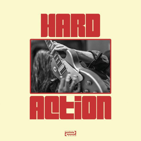 Cover HARD ACTION, hands dripping red