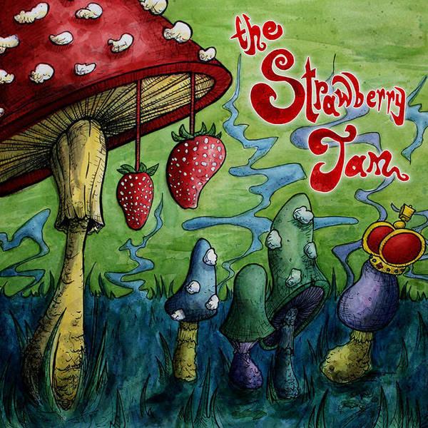 STRAWBERRY JAM, jam cover