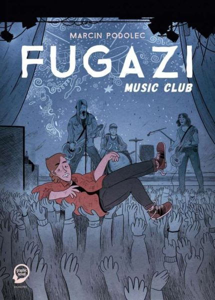 MARCIN PODOLEC, fugazi music club cover