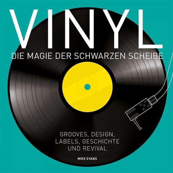 MIKE EVANS, vinyl - die magie der schwarzen scheibe cover