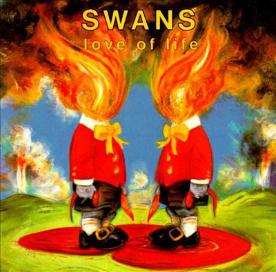 SWANS, love of life cover