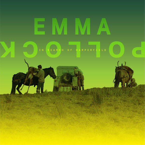 EMMA POLLOCK, in search of harperfield cover