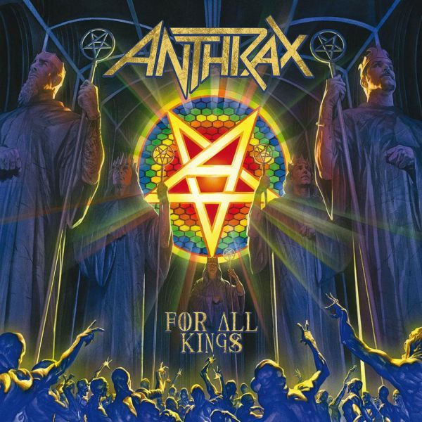 ANTHRAX, for all kings cover