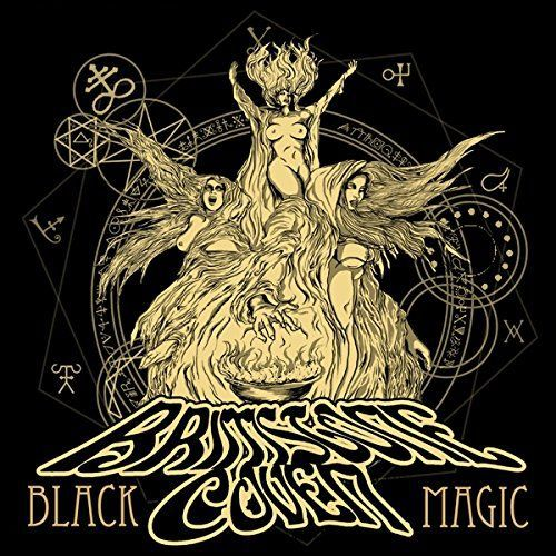 Cover BRIMSTONE COVEN, black magic