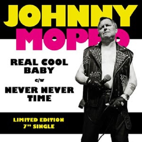 JOHNNY MOPED, real cool baby / never never time cover