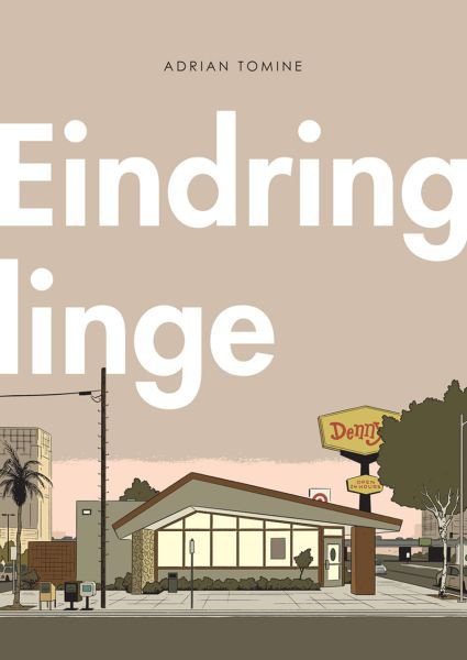 Cover ADRIAN TOMINE, eindringlinge
