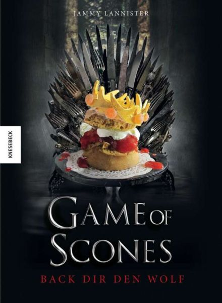 JAMMY LANNISTER, game of scones cover
