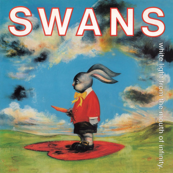 Cover SWANS, white light from the mouth