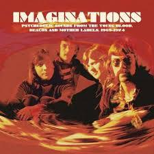 Cover V/A, imaginations- psychedelic sounds