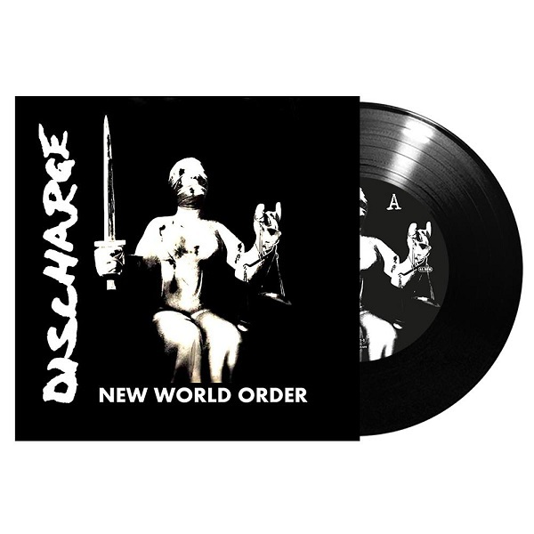 Cover DISCHARGE, new world order