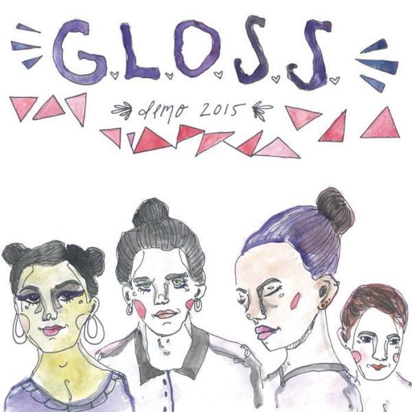 G.L.O.S.S., demo 2015 cover