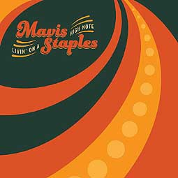 Cover MAVIS STAPLES, livin´ on a high note