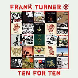 FRANK TURNER, ten for ten cover