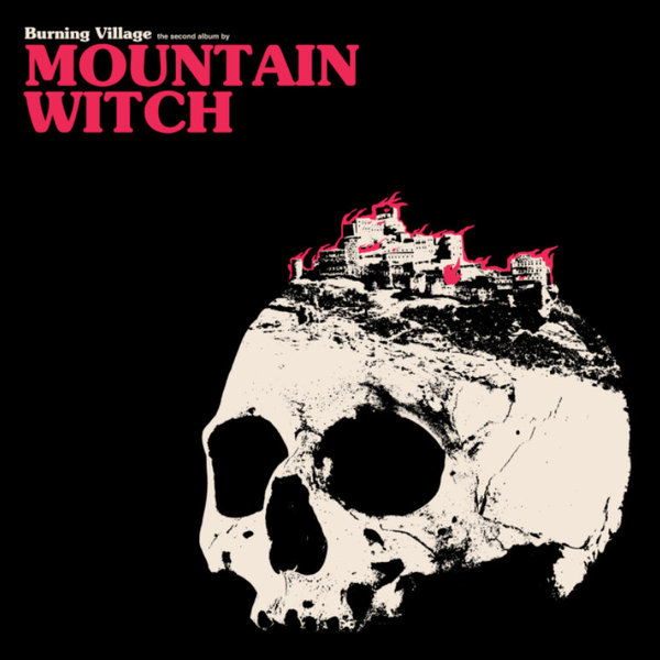 Cover MOUNTAIN WITCH, burning village