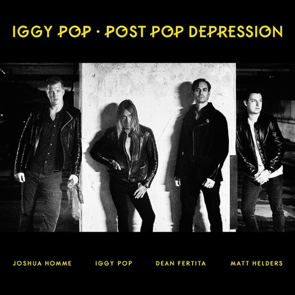 Cover IGGY POP, post pop depression