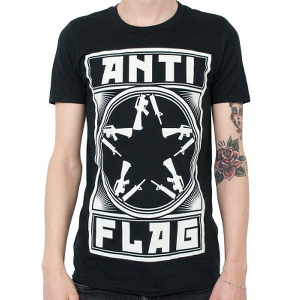 Cover ANTI-FLAG, new gunstar (boy) black