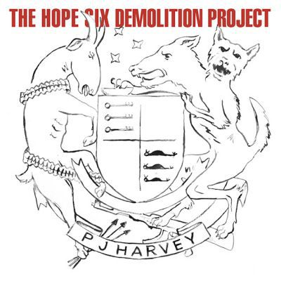 Cover PJ HARVEY, hope six demolition project