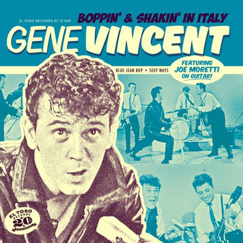 Cover GENE VINCENT, boppin´ & shakin´ in italy