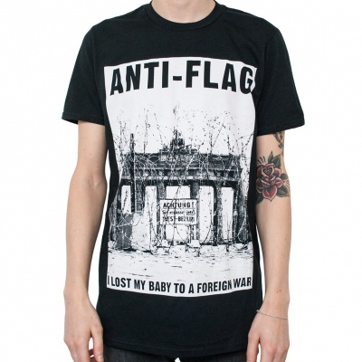 Cover ANTI-FLAG, brandenburg gate (boy) black