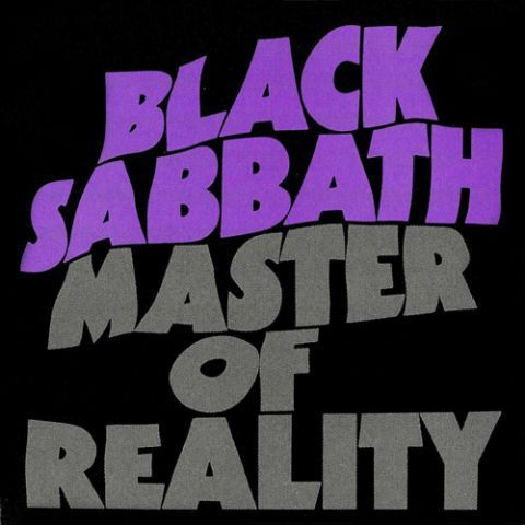 BLACK SABBATH, master of reality (deluxe edition) cover