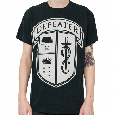 Cover DEFEATER, crest (boy) black