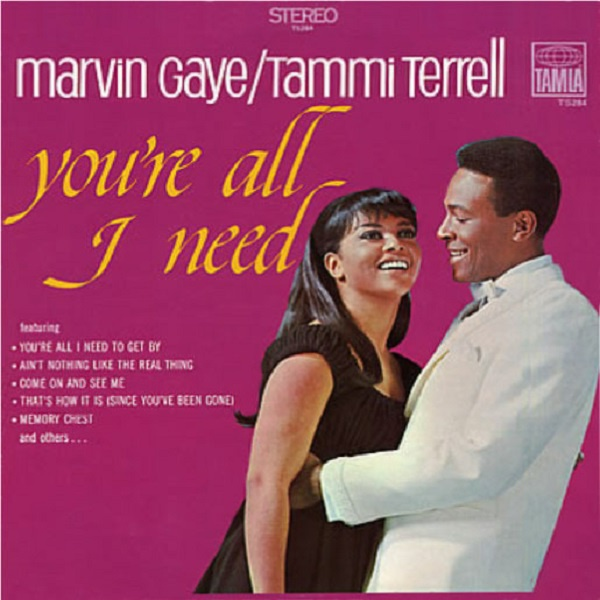 Cover MARVIN GAYE/TAMMI TERRELL, you´re all i need
