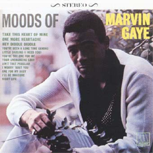 Cover MARVIN GAYE, moods of marvin gaye