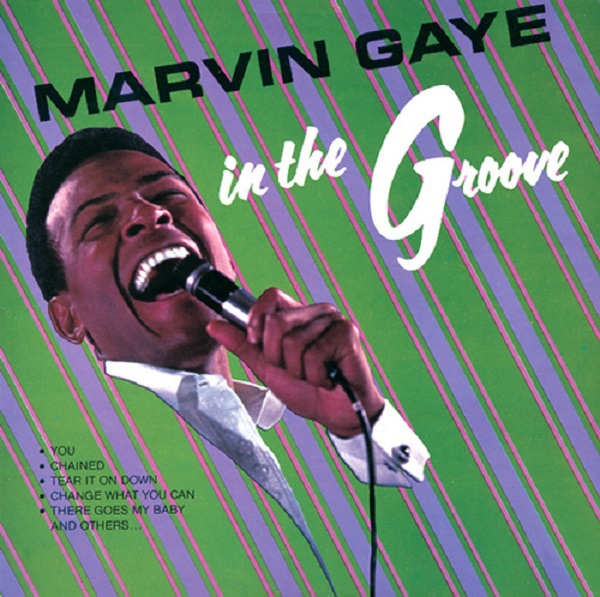 Cover MARVIN GAYE, in the groove