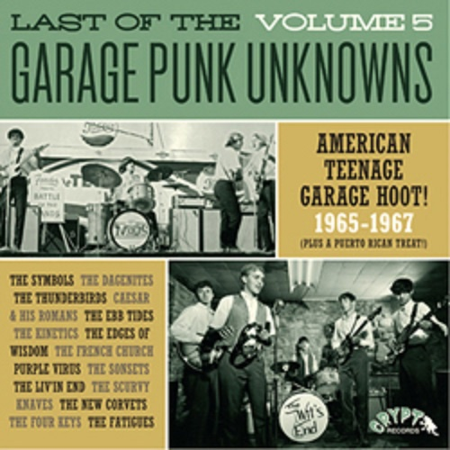Cover V/A, garage punk unknowns vol. 5