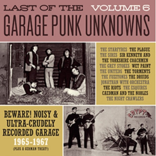 Cover V/A, garage punk unknowns vol. 6