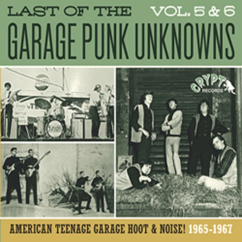 V/A, garage punk unknowns vol. 5 + 6 cover