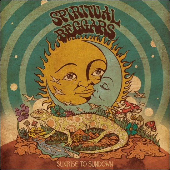 Cover SPIRITUAL BEGGARS, sunrise to sundown