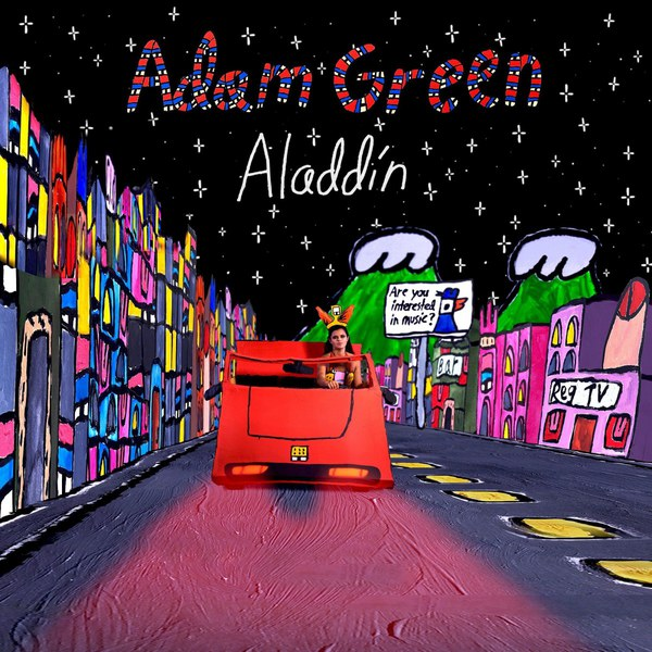 Cover ADAM GREEN, aladdin