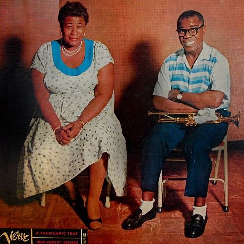 Cover ELLA FITZGERALD & LOUIS ARMSTRONG, ella and louis  (back to black ltd. ed.)
