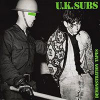 UK SUBS, demonstration tapes / raw material cover