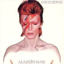 Cover DAVID BOWIE, aladdin sane