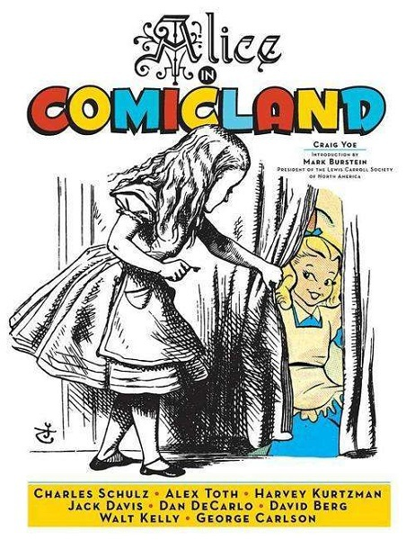 HARVEY KURTZMAN, alice in comicland cover