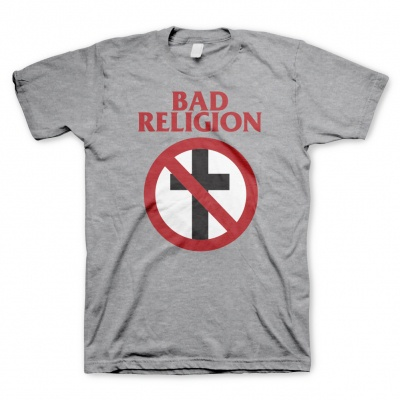 BAD RELIGION, cross buster (boy) heather gray cover
