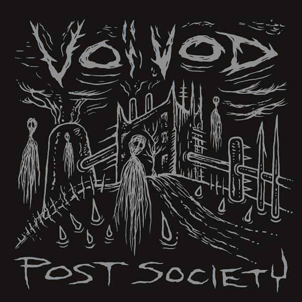 Cover VOIVOD, post society ep