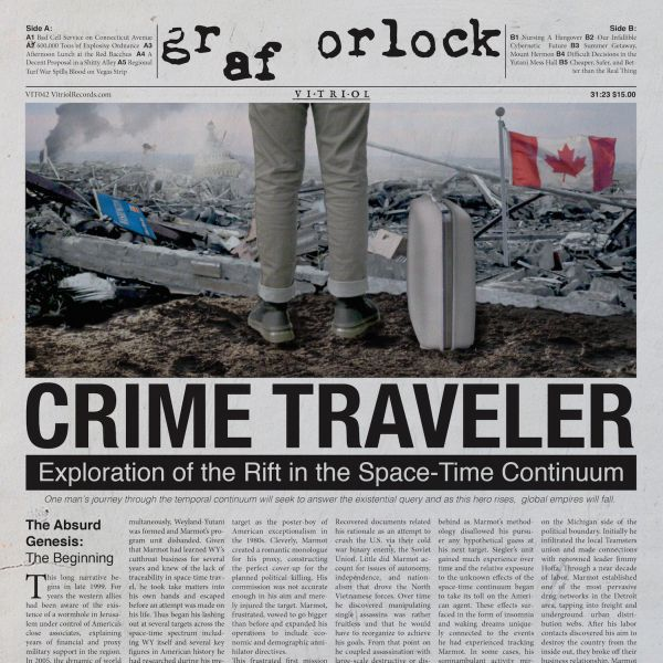 Cover GRAF ORLOCK, crime traveler