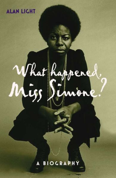 Cover ALAN LIGHT, what happened, miss simone?