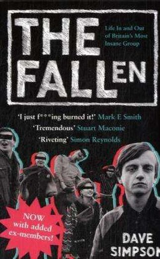 DAVE SIMPSON, the fallen: life in and out cover